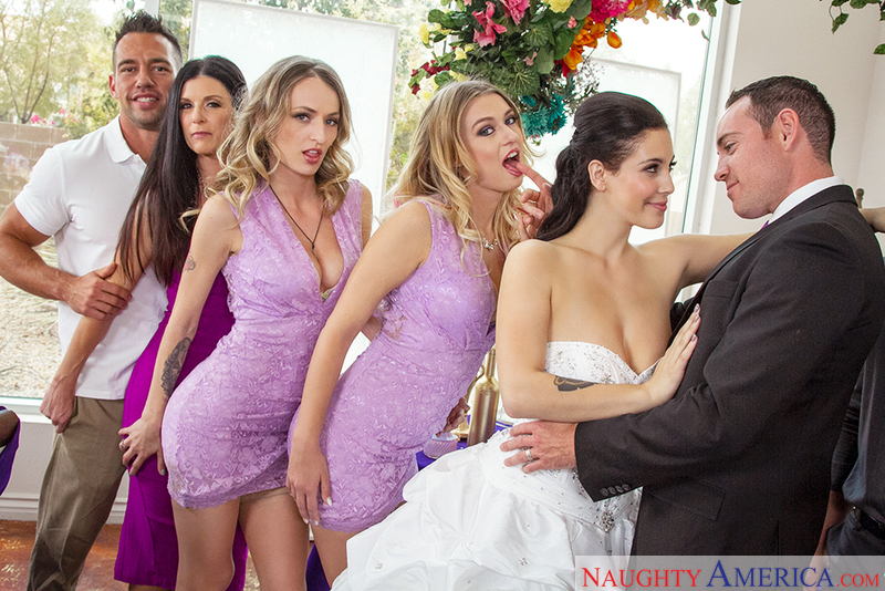Naughty Weddings - Rachel Roxxx