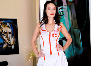 Nurse Jade's Gaping Anal Therapy