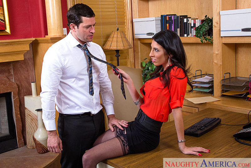 Naughty Office - Dava Foxx & Pre