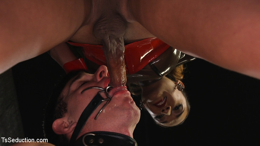 Latex Clad Domme Torments Hard C