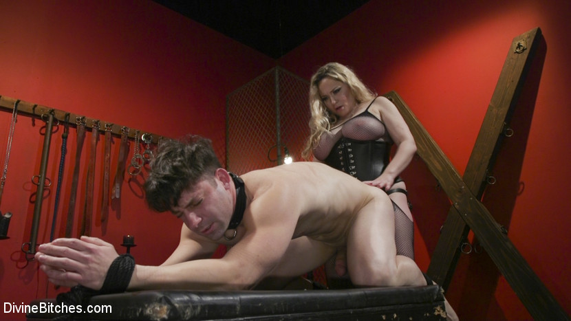 Aiden Starr pounds fresh meat
