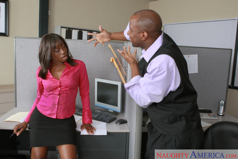 Naughty Office - Monique & Princ