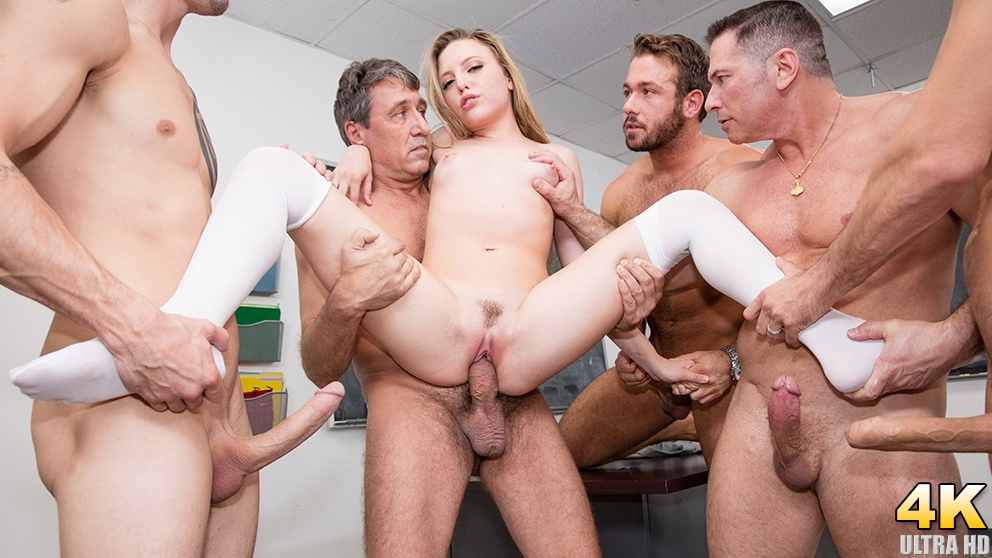 Aubrey Star Has A Horny Teachers