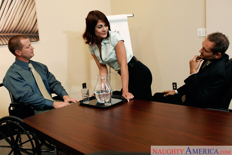 Naughty Office - Dahlia Denyle &