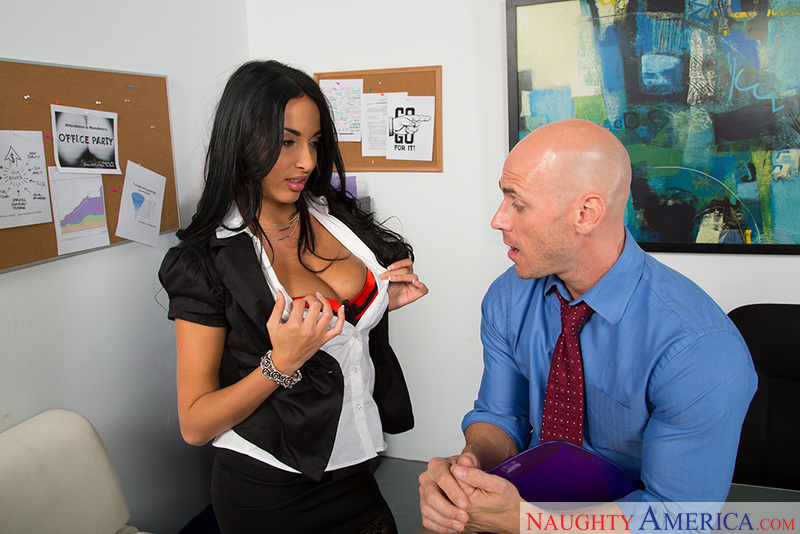 Naughty Office - Anissa Kate & J