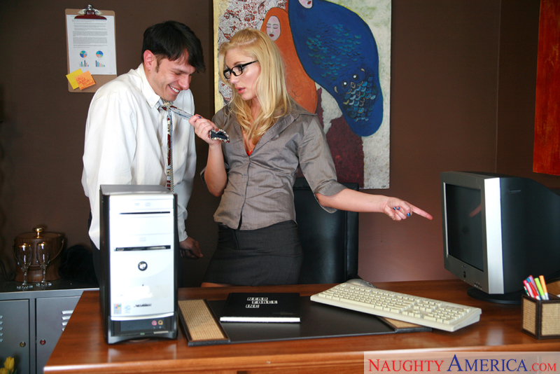 Naughty Office - Aurora Snow & A
