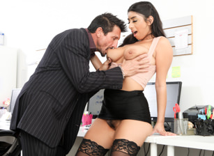 Big Tit Office Chicks #06