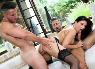 Lucia's Gift: Two-Cock Anal Thre