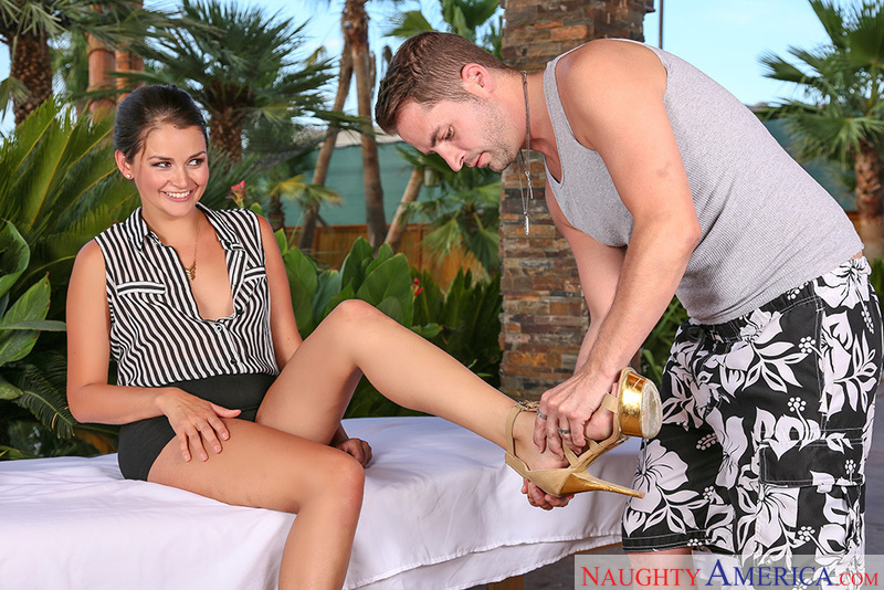 My Naughty Massage - Allie Haze