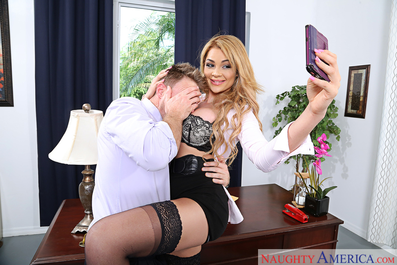 Naughty Office - Skyla Novea & L