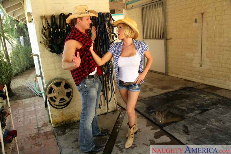 Naughty Country Girls - Krissy L