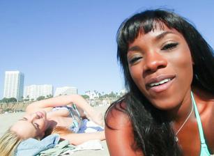 Sun Kissed On The Beach Scena 1