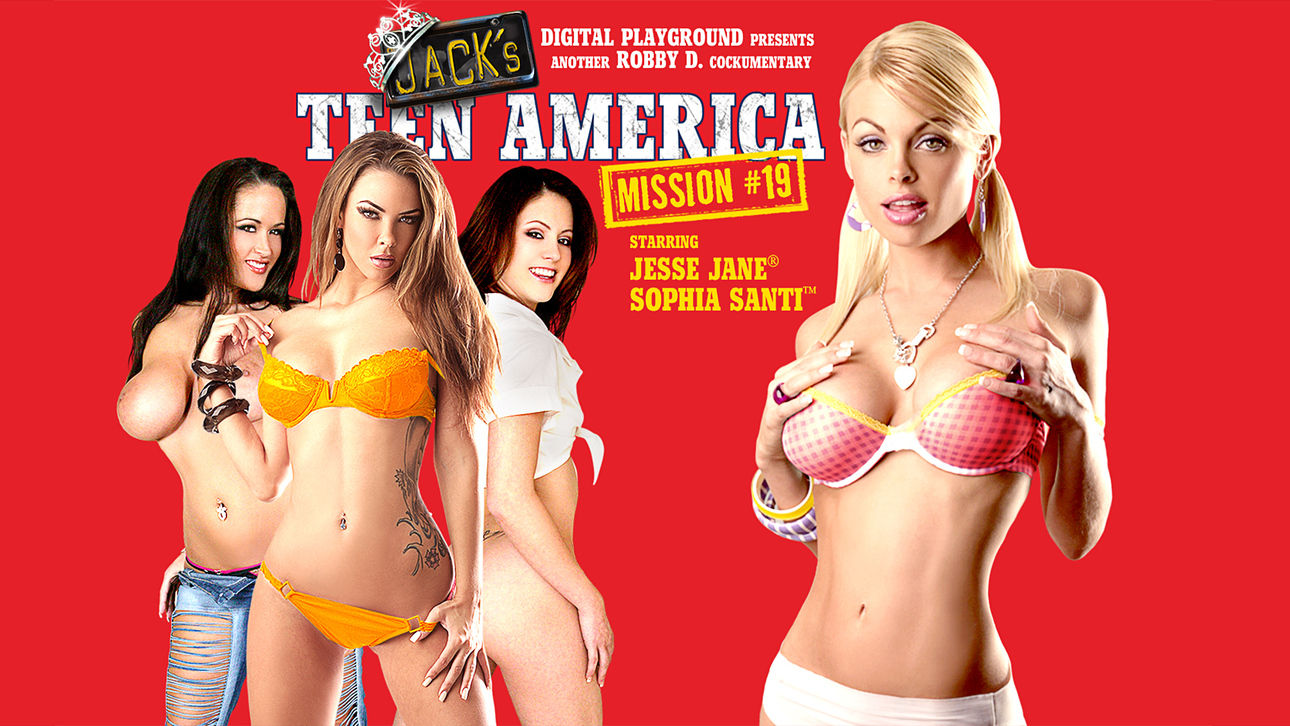 Jack's Teen America 19 Scène 1