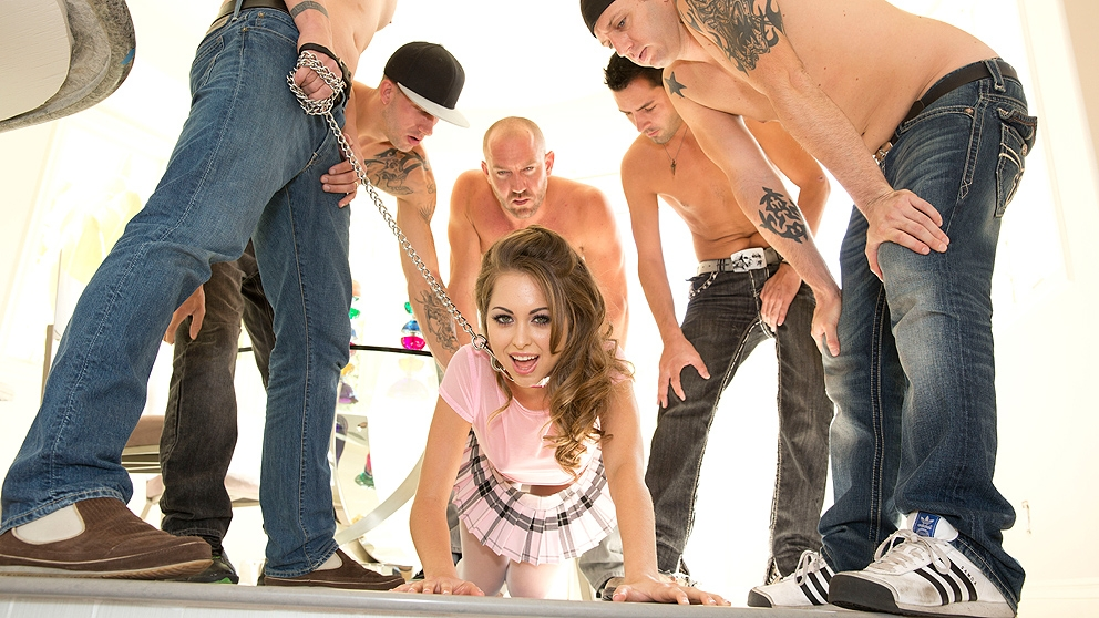 Riley Reid 5 Cock Jizz Bomb In H