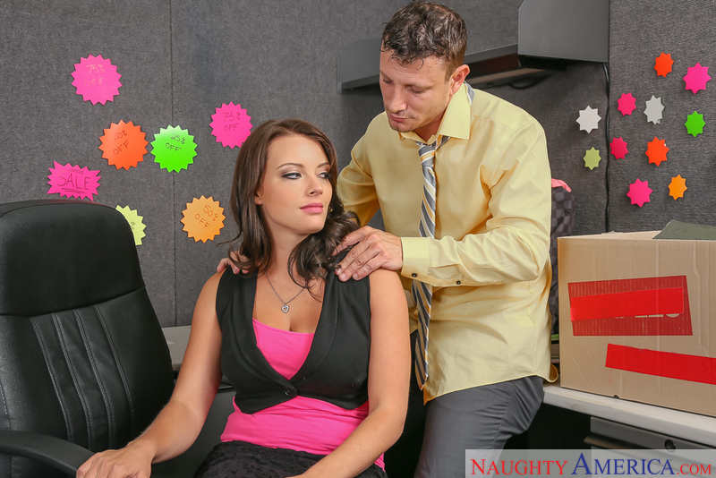 Naughty Office - Kayla West & Mr