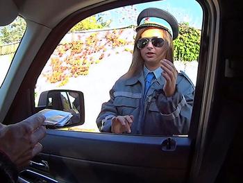 This Policewoman Needs Cock Too