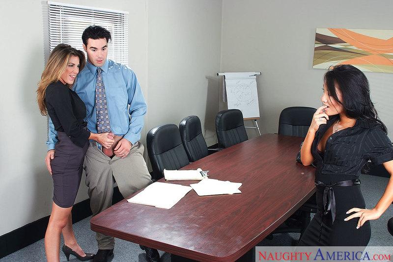 Naughty Office - Asa Akira & Kay