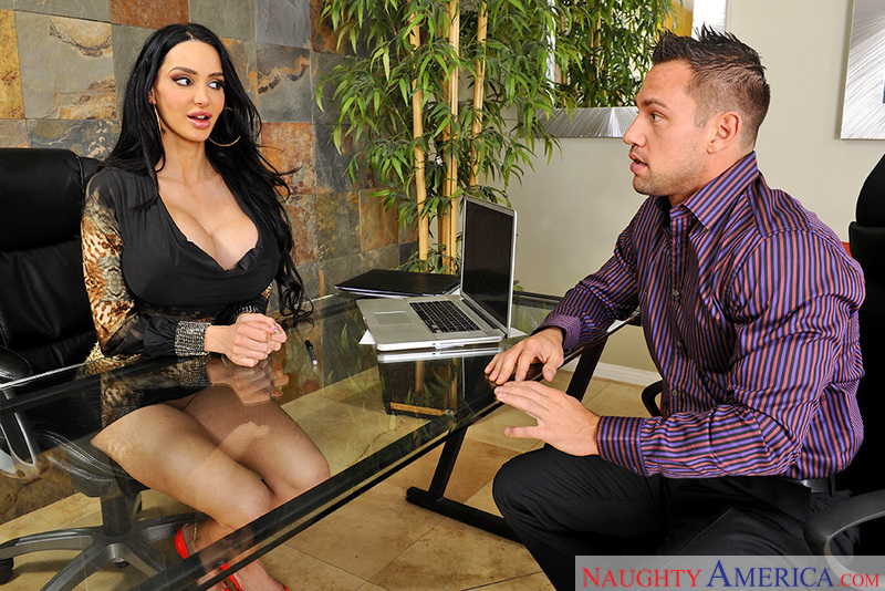 Naughty Office - Amy Anderssen &