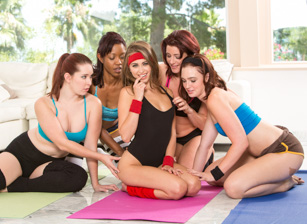 Gym Bunnies Escena 2