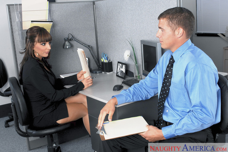 Naughty Office - Lily Paige & Ch