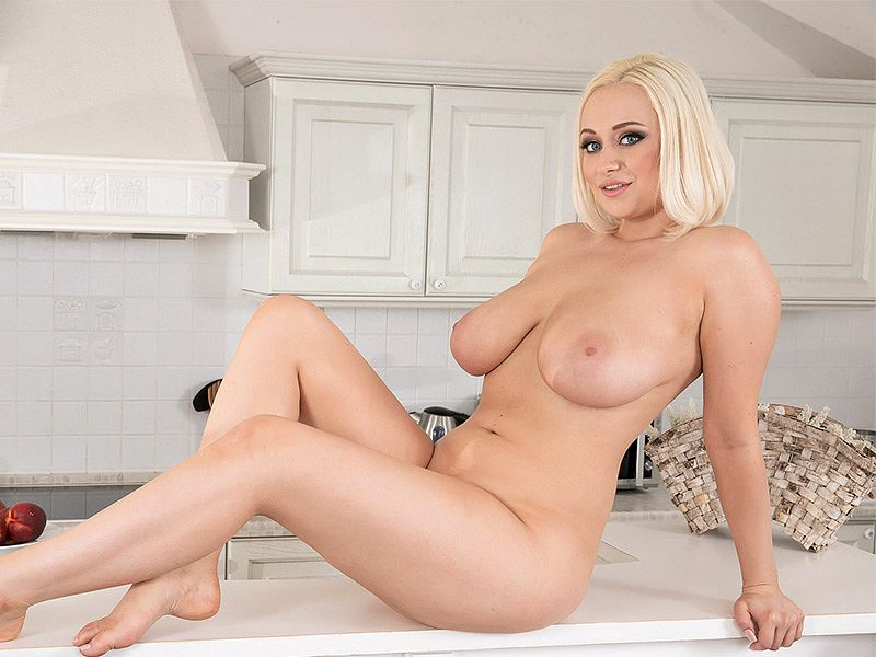 Busty British Blonde
