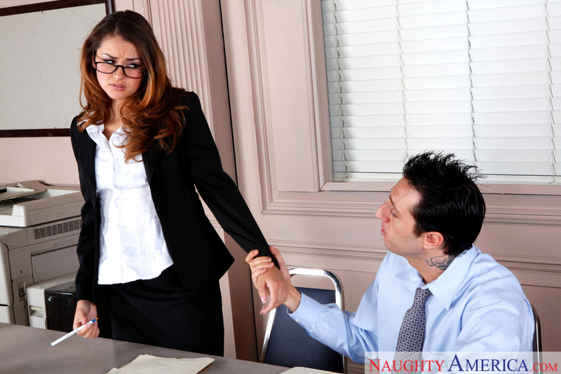 Naughty Office - Allie Haze & Ma