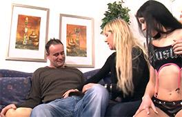 Amateur Threesome Scène 1