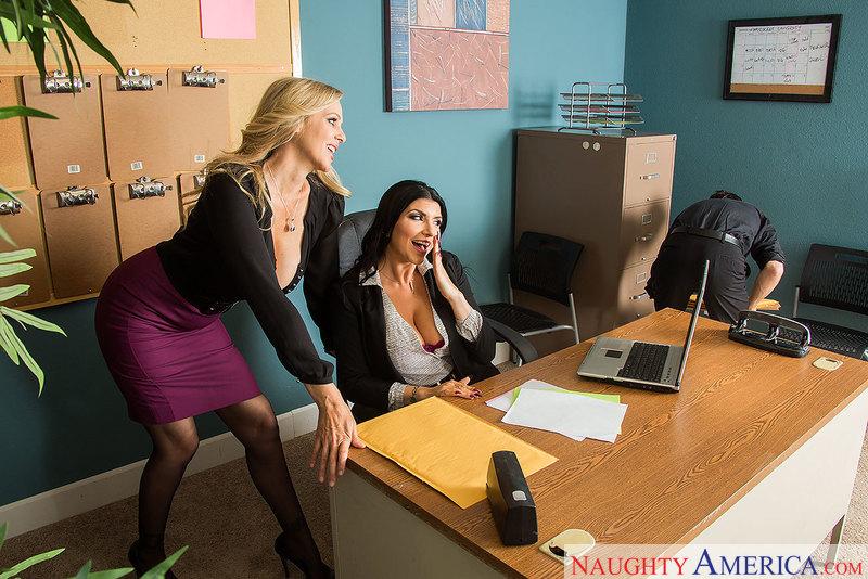 Naughty Office - Julia Ann & Rom