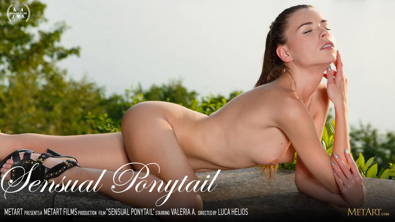 Sensual Ponytail