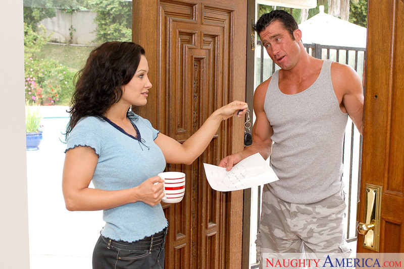 Neighbor Affair - Lisa Ann & Bil