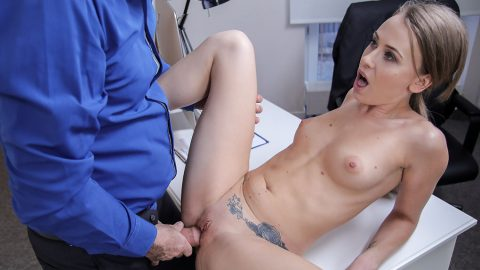 Office Fuck For Sexy British Mod