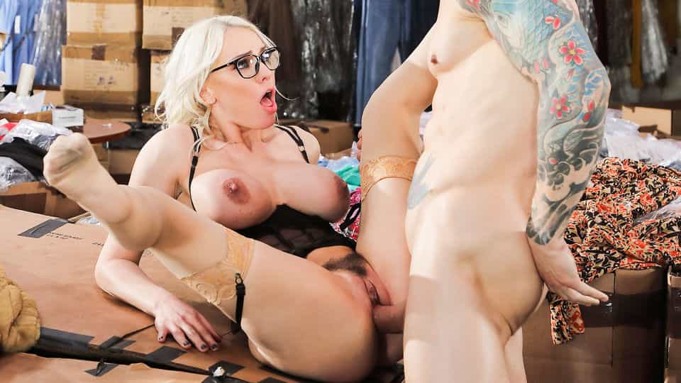 Busty Babe Closes XXX Deal