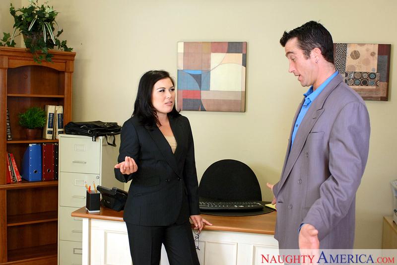Naughty Office - Ashley Blue & B