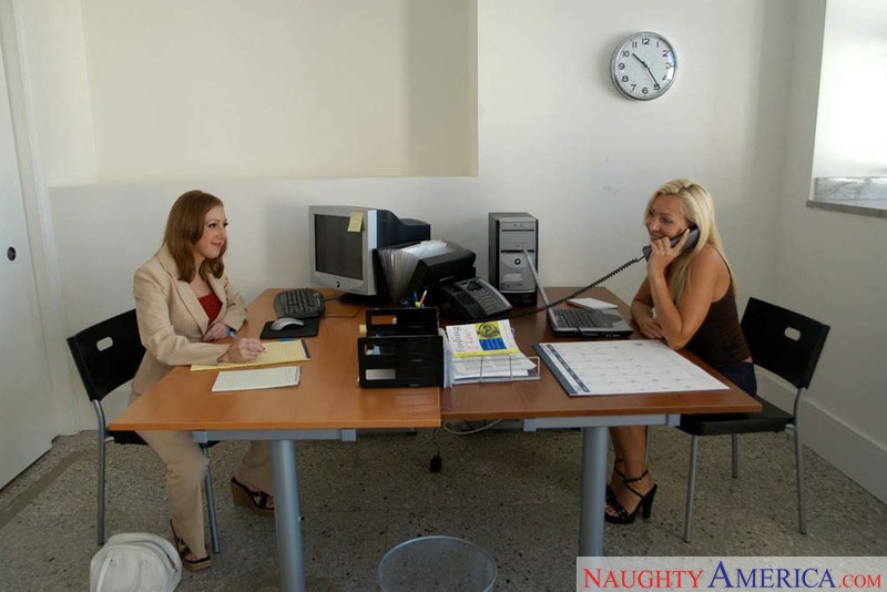 Naughty Office - Lisa DeMarco &