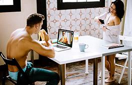 Skype-Sex Scène 1