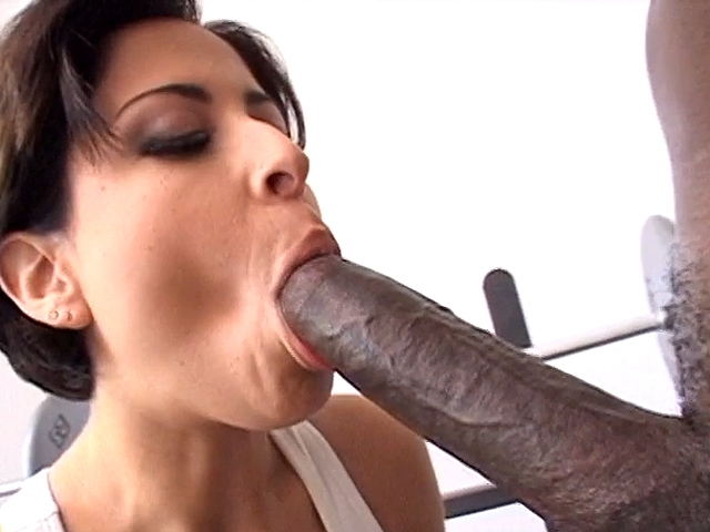 August Interracial Big Black Coc