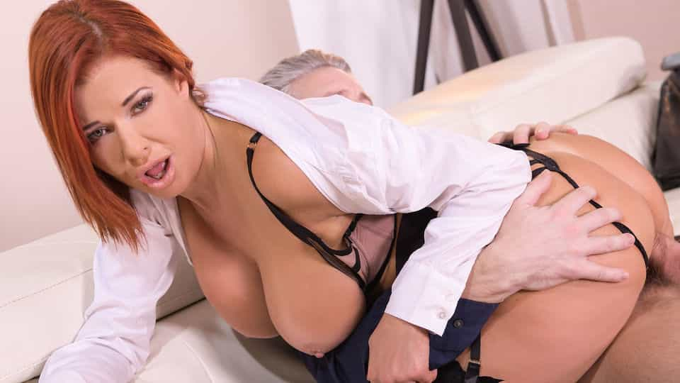 Naughty Housemaid on Ass Fucking