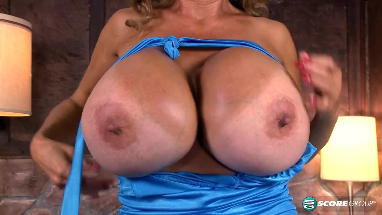 Tight Tops Over Giant Tits