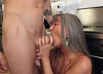 Granny Fucks Her Godson, part 1 Scena 1