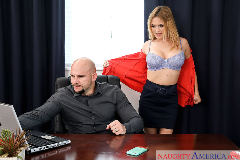 Naughty Office - Krissy Lynn & J