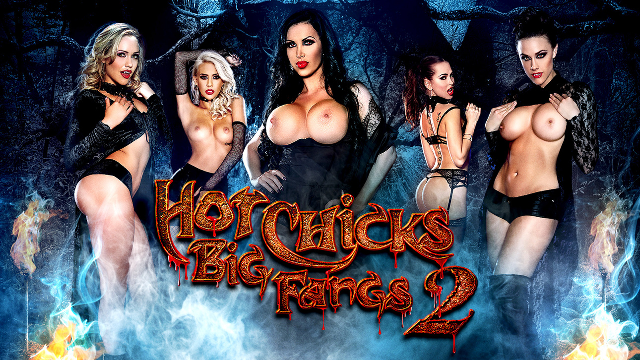 Hot Chicks Big Fangs 2 Scène 1