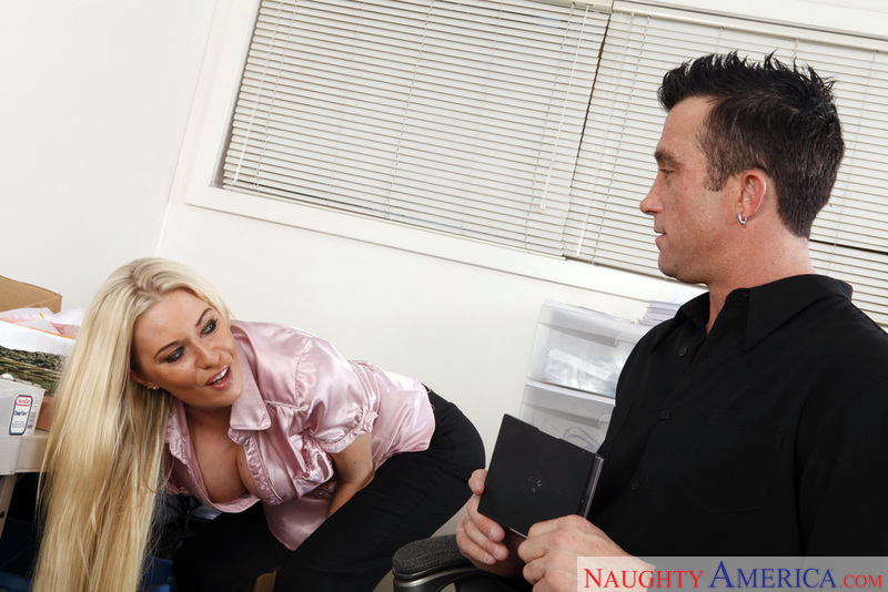 Naughty Office - Riley Evans & B