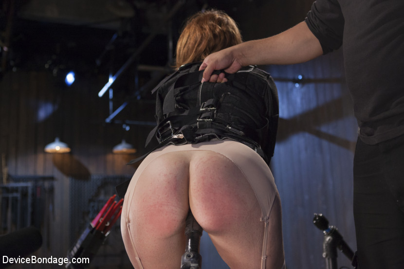 Hot Red Head Gets Tormented and