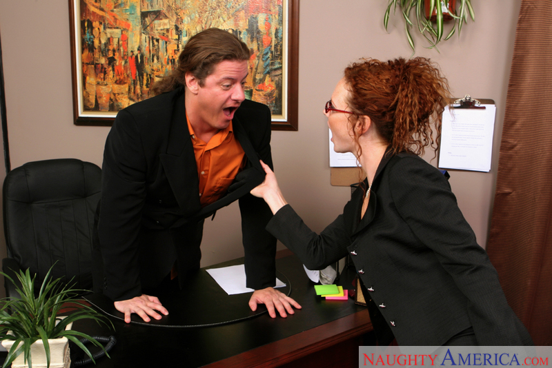 Naughty Office - Audrey Hollande