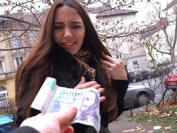 Russian MILF Flashes Her Panties
