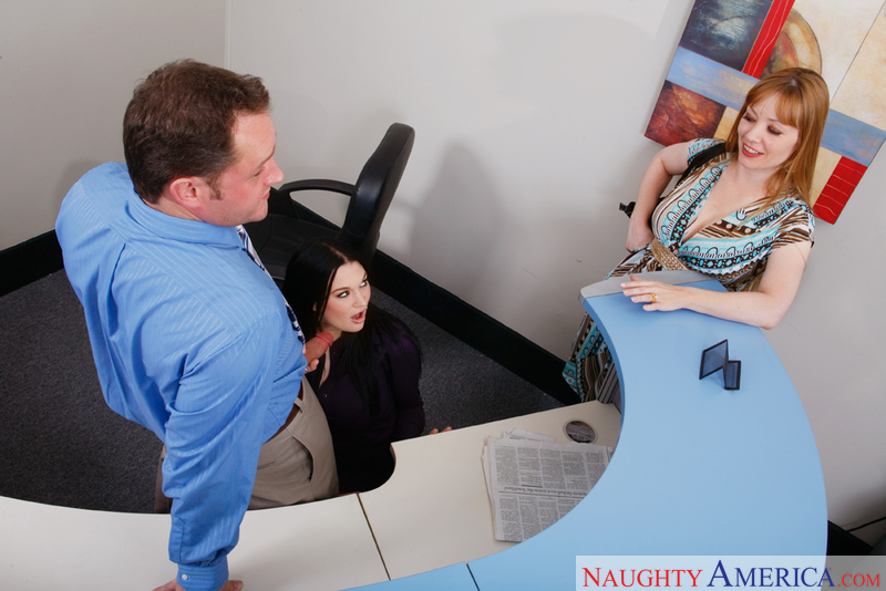 Naughty Office - Alayna Dior & C