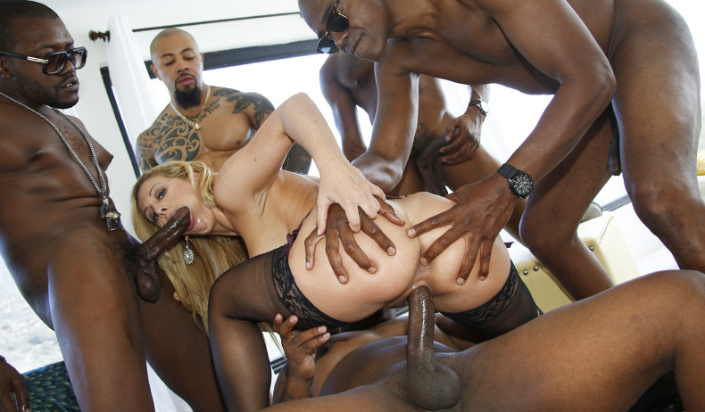 Blacks On Blondes - Cherie DeVille Scène 1