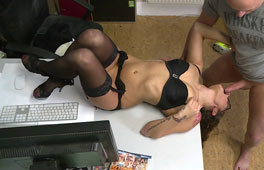 German Office Anal Pounding