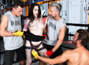 Rocco's Fitness Sluts: DP Editio