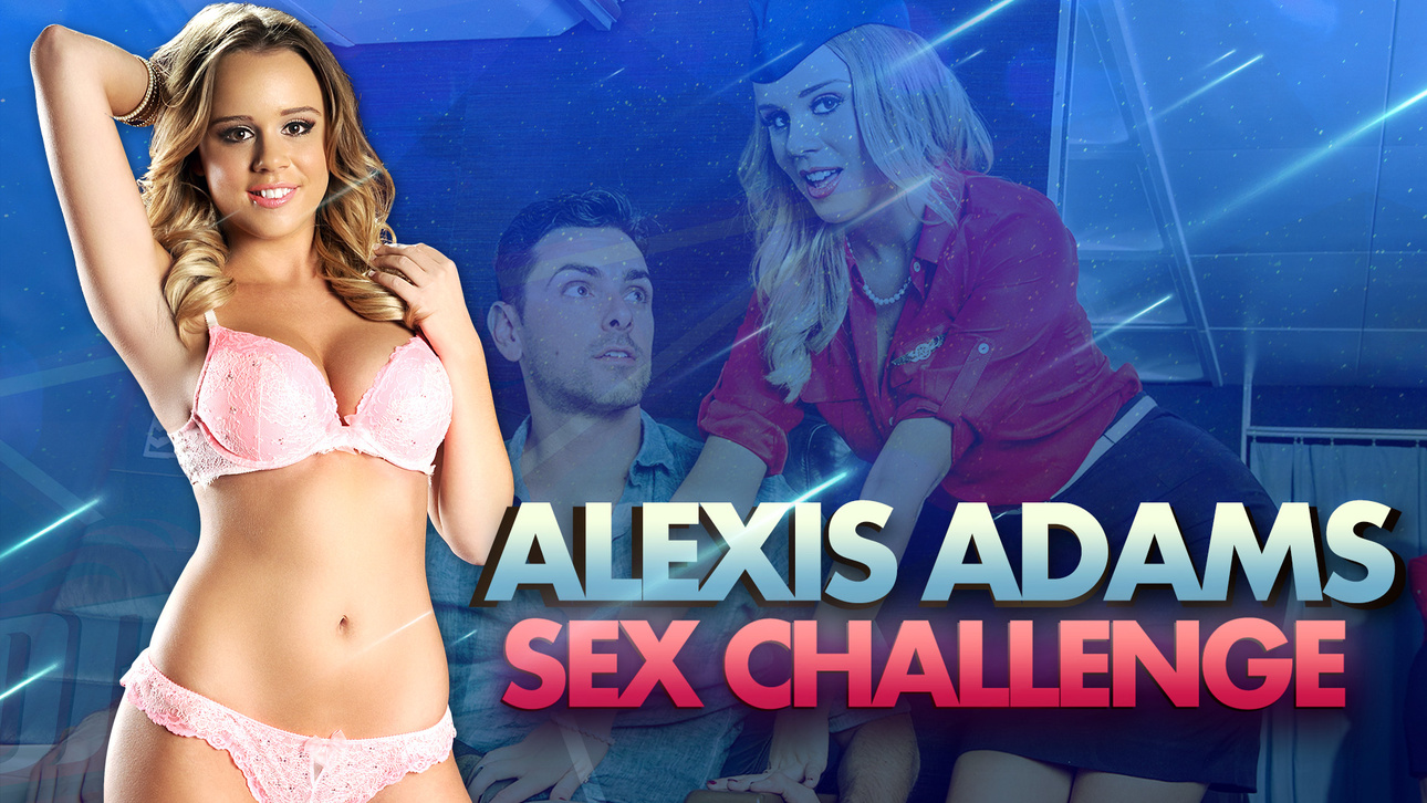 Alexis Adams in DP Star Sex Chal